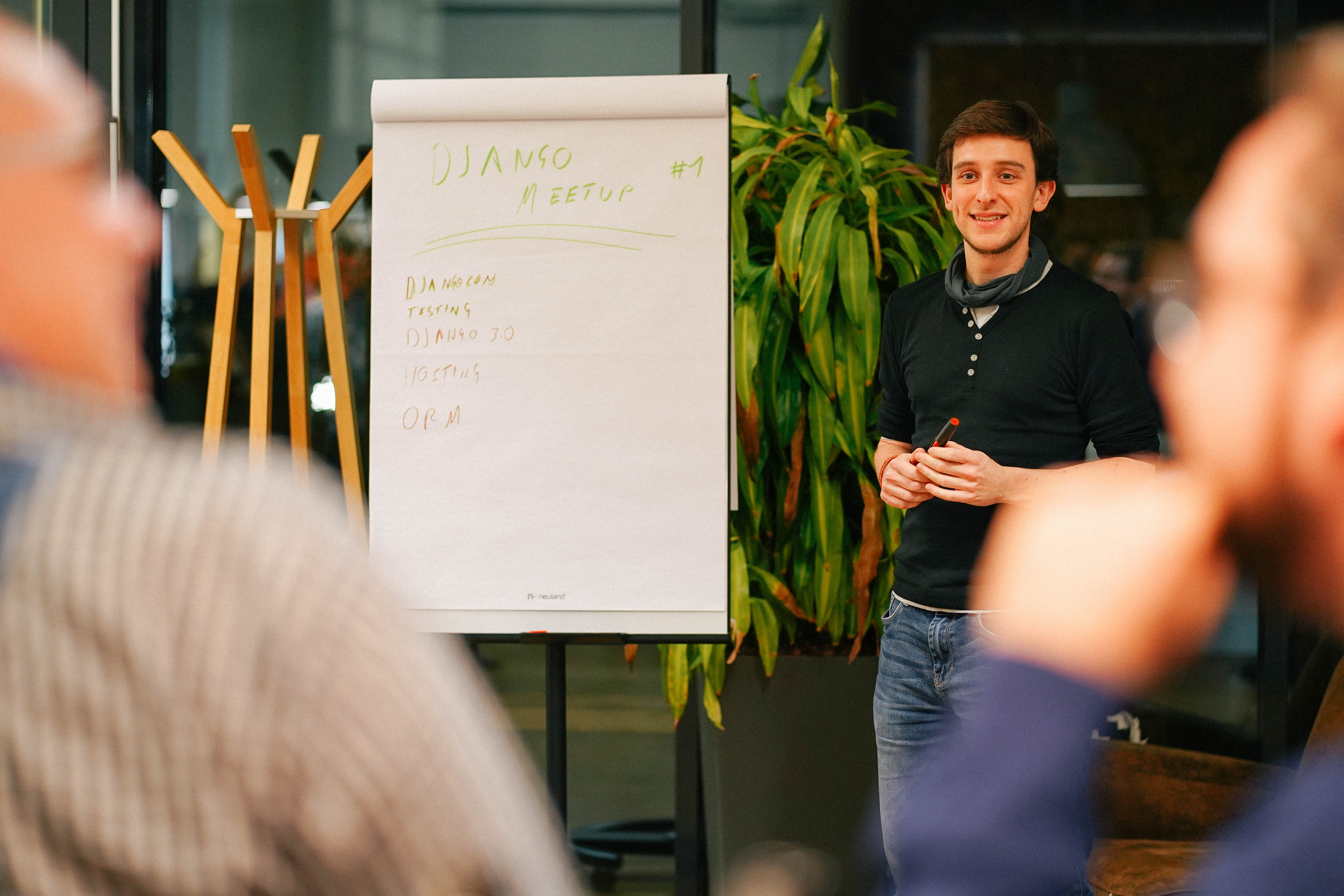 Vortrag bei Django Meetup in Köln