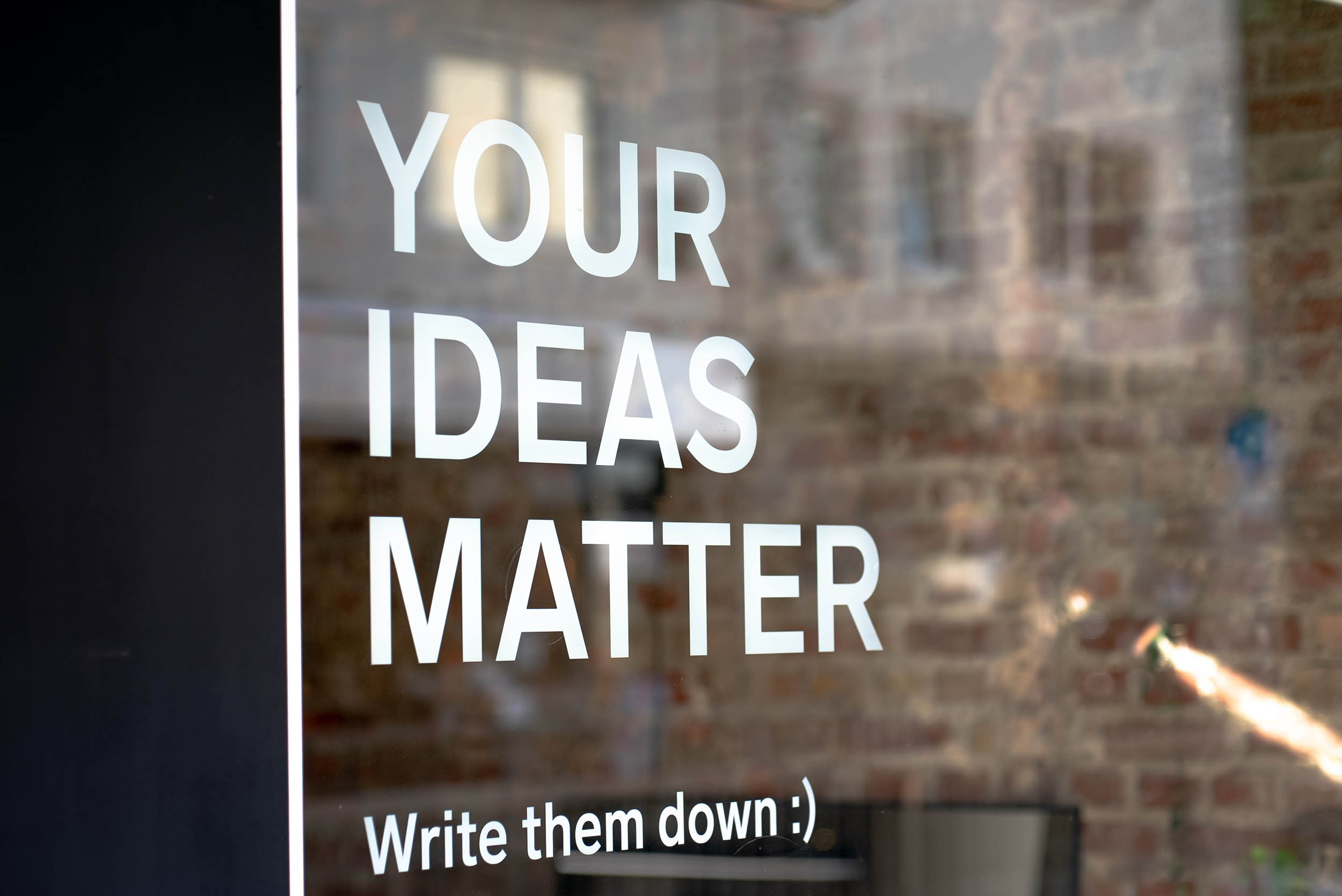 Mockups können helfen, eine Idee greifbar zu machen.